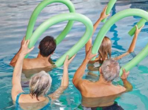Branch exercise stock hydrotherapy