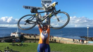 Fundraising - Cycle - Land's End to John O'Groats - Sue Chesterman