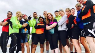 Fundraising - Cycle - UCB - Cycle Ride - Team Photo