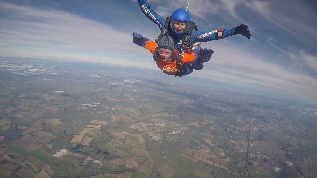 Fundraising - Extreme - Karen Foreman - Skydive