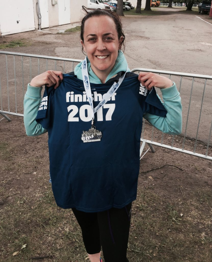 Fundraising - Run - Edinburgh Half Marathon Finisher - Ruth Hollis