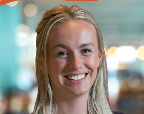 NASS member Megan smiling