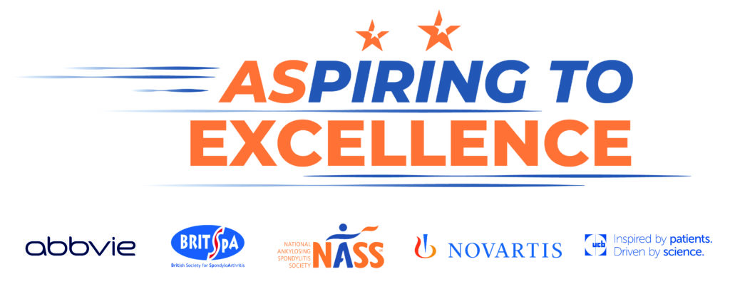 Aspiring to Excellence programme and sponsor logos