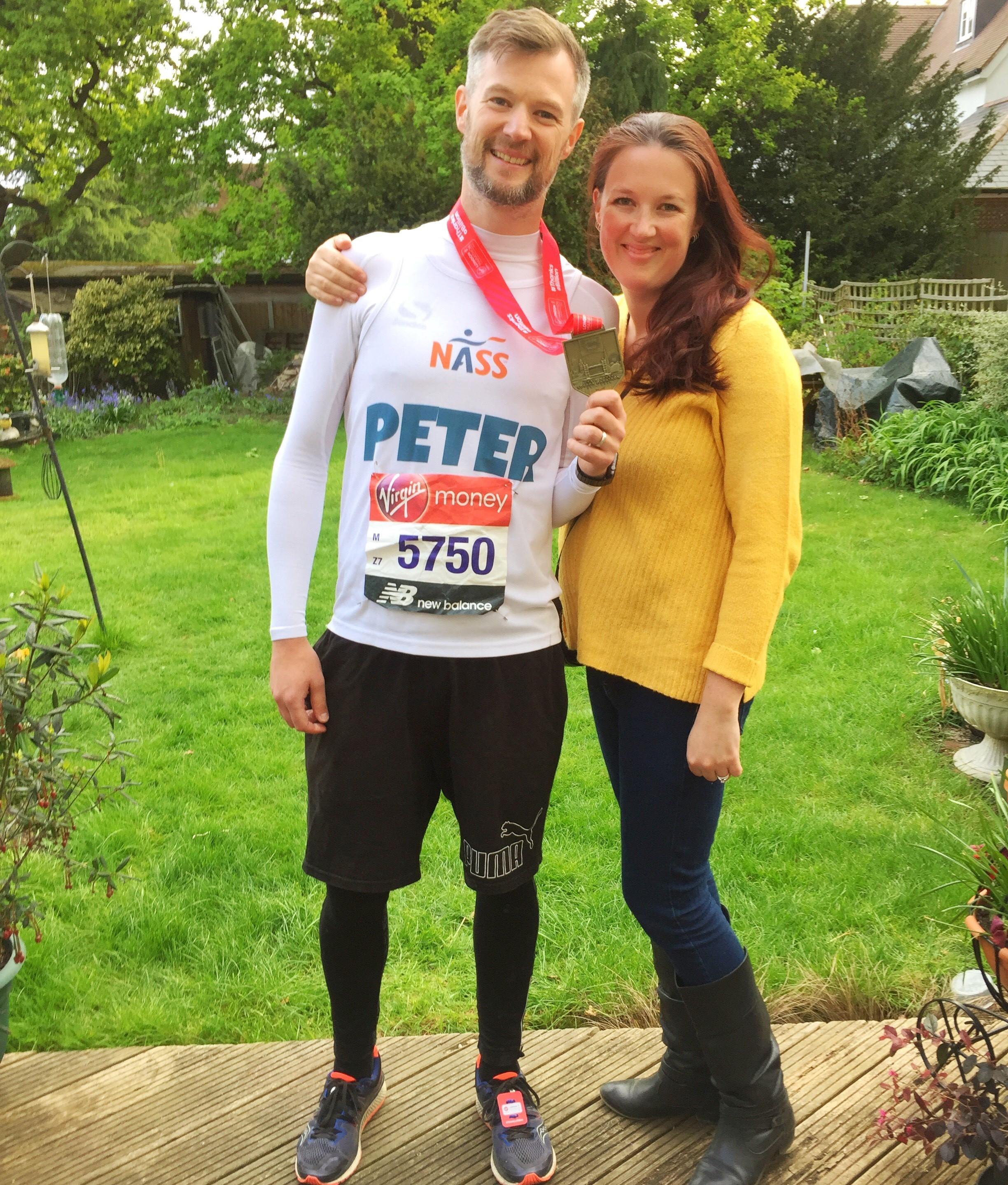 run london marathon for nass