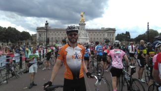 Fundraise cycling challenge