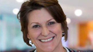 NASS member Patricia smiling