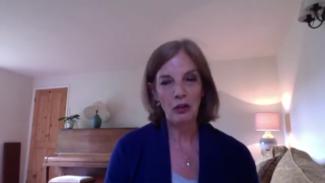 Diane Aronson talking