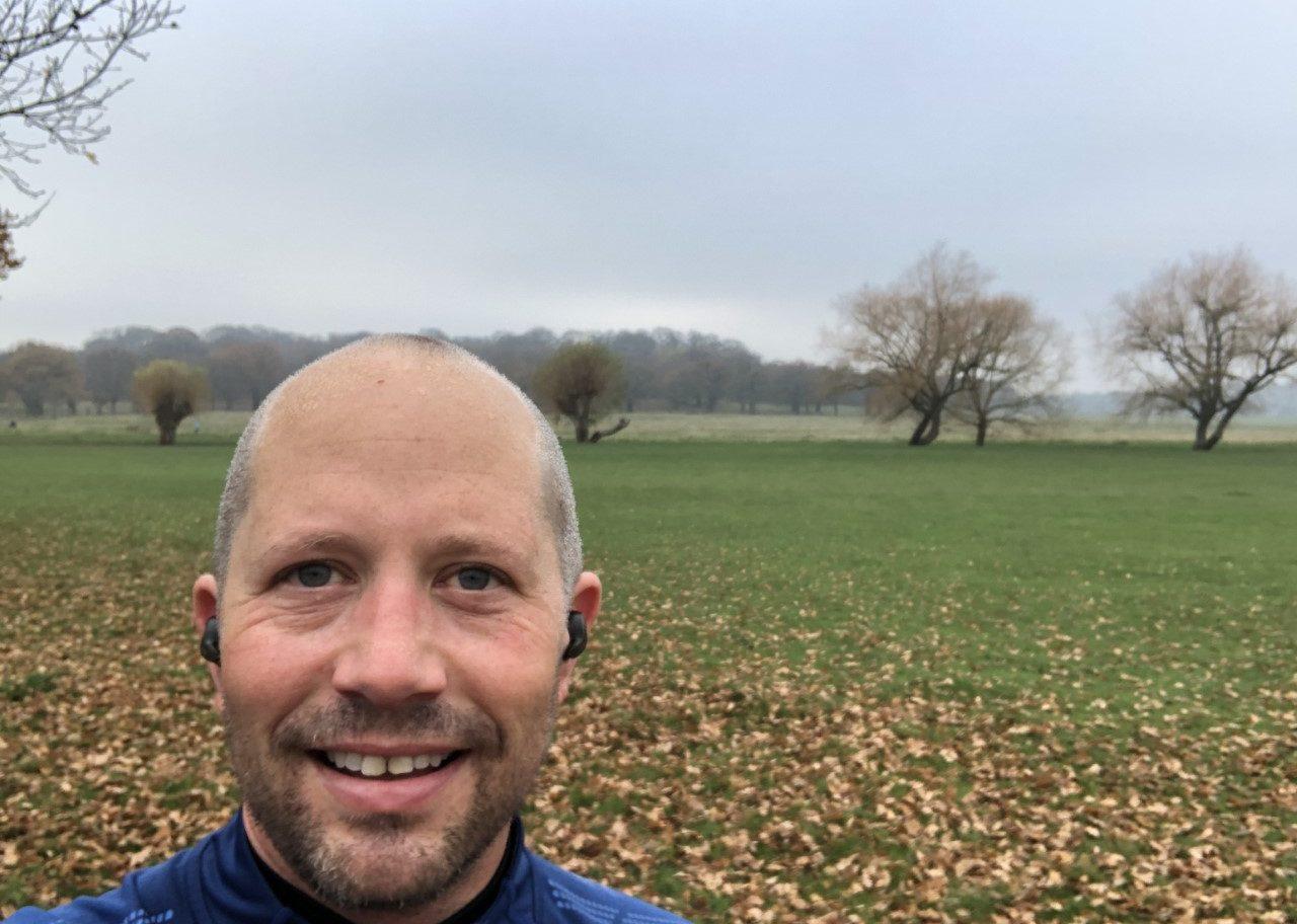 Image of Danny McFarlane training for the royal Parks Half Marathon