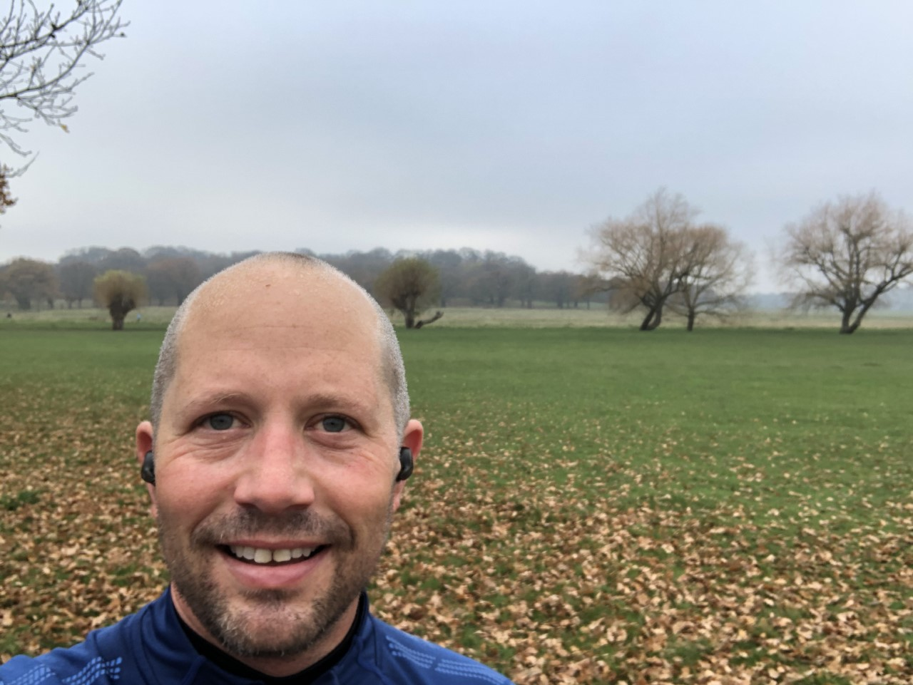 Image of Danny McFarlane training for the royal Parks Half Marathon