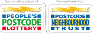 Peoples Postcode Lottery Postcode Neighbourhood Trust logo