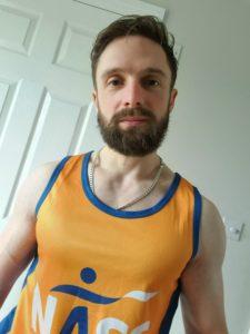 James Stern in NASS running vest
