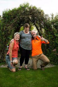 Kathy, Gillian and Gerry
