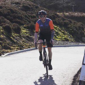 Sean Dodsworth cycling