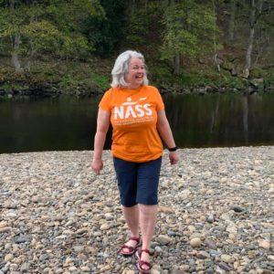 Julie - Participant photo Walk Your AS Off 2021