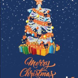 Christmas Cards: A Merry Christmas Tree,