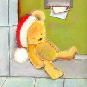 Christmas Card: Festive Teddy